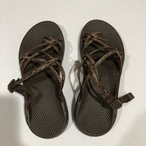 Chaco Zong X Ecotread Slides Brown